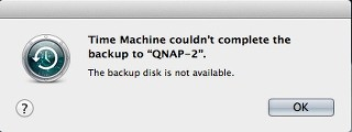 Time Machine Backup Fails After Restore