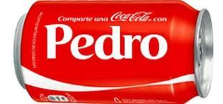 Todos los nombres que aparecen en las botellas de Coca Cola