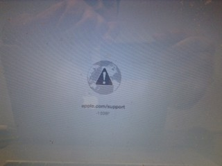 Mac 1006F Error Message