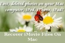 iMovie data recovery