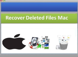 recover deleted system files on Mac