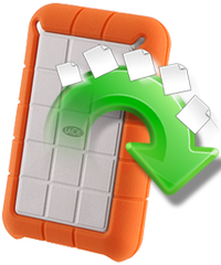 Rescue Lacie rugged USB files