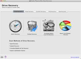 Mac data recovery software for RAW files