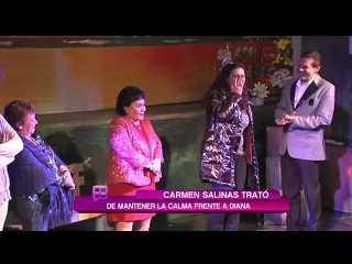 Diana Golden apareció borracha en obra de teatro