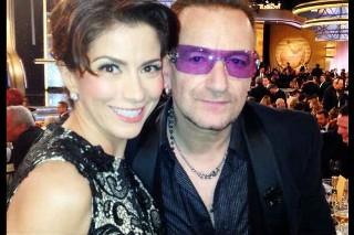 Alessandra Rosaldo y Bono de U2
