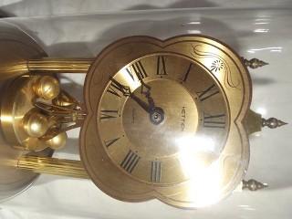 Antico orologio a campana hettich da tavolo clock vintage - Orologio da tavolo antico ...