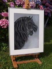 schilderij paard opdracht