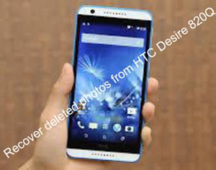 Recover deleted photos from HTC Desire 820Q