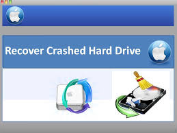 How to recover crashed drive