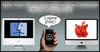 Sync iPhone with Two Computers Without Erasing Data
