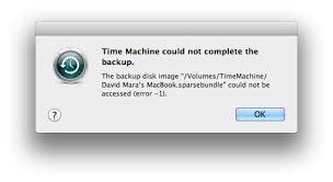 Fix Time Machine Sparsebundle Errors