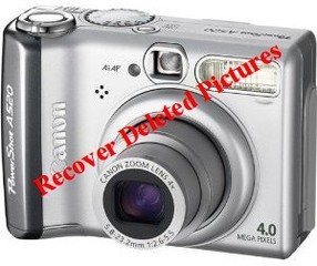 Recover deleted picture from Canon Powershot a520