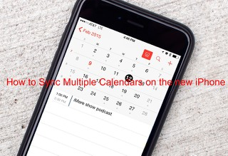 How to Sync Multiple Calendars on the new iPhone