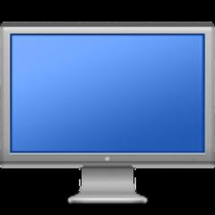 empty blue screen in Mac OS X 10.8.2