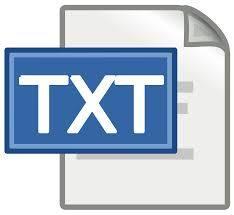 Corrupt text file