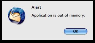 Can i fix Mac out of memory error