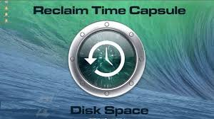 Get rid of time capsule error