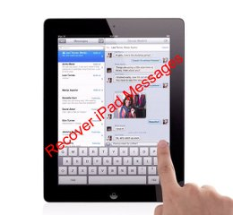 Rccover iPad messages