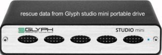 Rescue Data from Glyph Studio Mini Portable Drive
