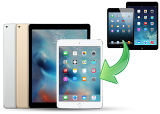 How to transfer data from old iPad to new iPad Mini 4
