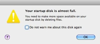 How to Get Rid of 'Hard Drive Full Error'?