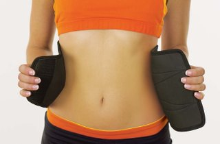 picture of sweet sweat waist trimmer belt