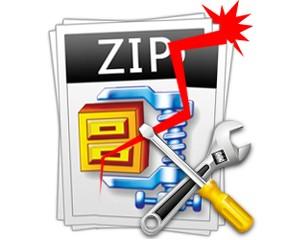 recover files from broken zip on Mac