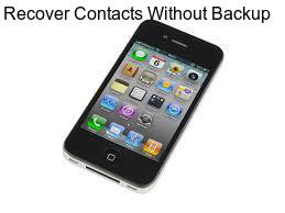 Recover Contacts from iPhone 6s Without Backup