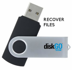 Edge Diskgo Secure USB 3.0 flash drive recovery