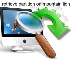 retrieve partition on mountain lion