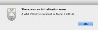 70012 error in Mavericks