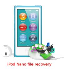 iPod Nano file recovery