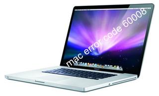 Mac error code 60008
