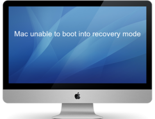 Mac unable to boot into recovery mode