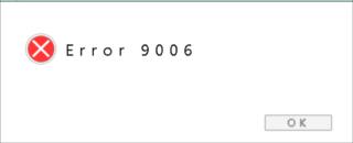 Mac error code 9006