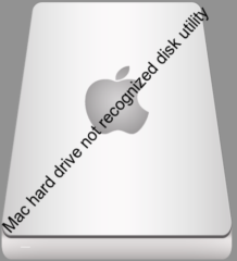 Mac hard drive not recognized disk utility