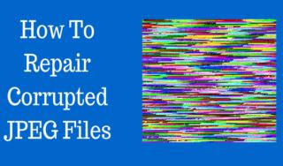 Repair corrupted JPEG file on Mac
