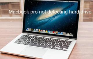 Macbook pro not detecting hard drive