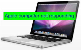 Apple computer not responding