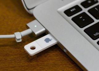 pen drive showing empty on Mac