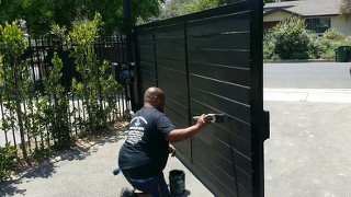 Gates can sometimes be renovated on the premises; sometimes the work can be accomplished within a day.