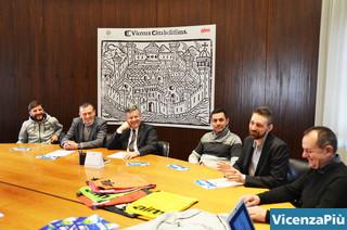 Remo Laverda, Andrea Mondin, Otello Dalla Rosa, Moreno Marsetti, Giulio Nicetto e Tino Tagliaferro