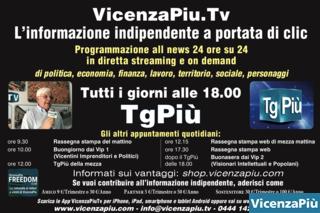 TgPiù, la programmazione su icenzaPiu.tv