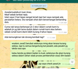 Khidmat Rawatan Sihir/Santau/Saka Jarak Jauh (rawatan serendah RM30