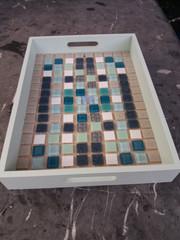 dienblad mozaiek