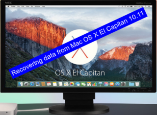 Recovering data from Mac OS X El Capitan 10.11