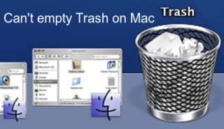 Can't empty Trash on Mac