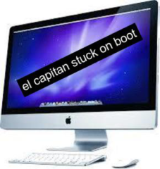 el capitan stuck on boot