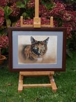 kattenschilderij schilderij kat opdracht