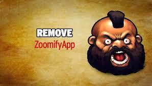 rimuovere Zoomify